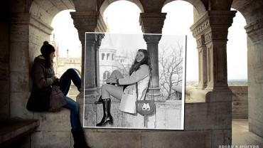 Powrót do przeszłości: 28 historycznych zdjęć wkomponowanych we współczesne tło