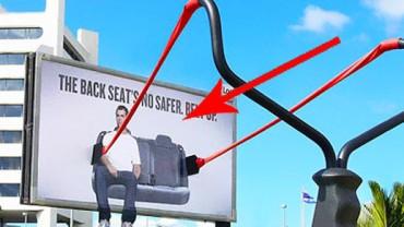 Najbardziej pomysłowe reklamy zewnętrzne! Zobacz koniecznie!
