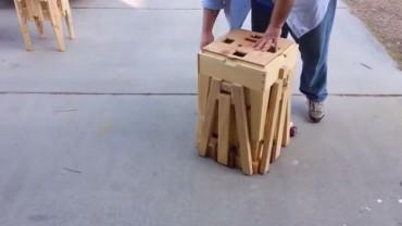 Myślisz, że to zwykła drewniana skrzynka? Jesteś w błędzie! Zobacz, co to takiego!