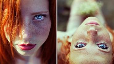 Kiedy zobaczyłem te rudowłose kobiety, nie mogłem wyjść z zachwytu!