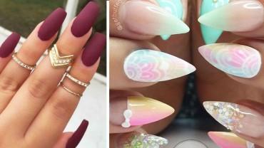 15 pomysłów na modne i piękne paznokcie! Zobacz koniecznie!