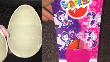 Kobieta kupiła córce Kinder Niespodziankę, ale z pewnością takiego prezentu się nie spodziewała!