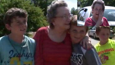 Sąd chciał wsadzić 75-letnią staruszkę do więzienia, za błahostkę, gdy dowiedziało się o tym 4 braci z sąsiedztwa natychmiast pobiegli ratować kobietę