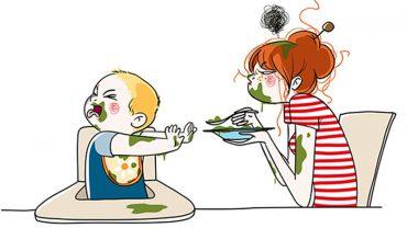 Oto jak wygląda najtrudniejszy zawód świata! Rysunki tej artystki pokazują w zabawny sposób trudy macierzyństwa. Numer 10 najlepszy!