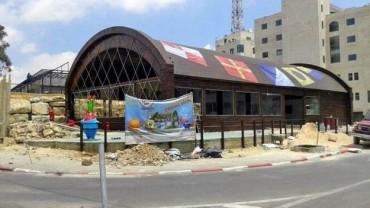 """Restauracja Krusty Krab z serialu animowanego """"SpongeBob Kanciastoporty"""" powstaje w Palestynie!"""