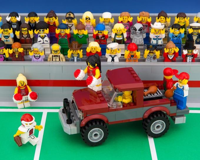 Reprezentacje 50 Stanów Zjednoczonych w formie... LEGO. Koniecznie zobacz zdjęcia!