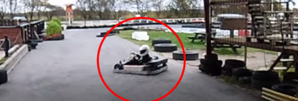 Oto godny następca Stiga z Top Geara! Zobaczcie, jak parkuje gokarta!
