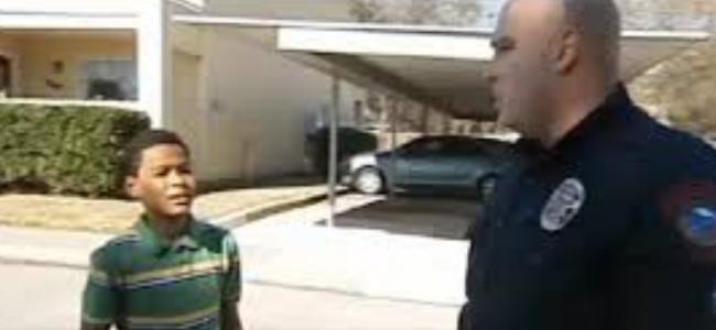 Policjant zauważył na ulicy samego młodego chłopaka. Nie mogłem uwierzyć w to, co stało się później!