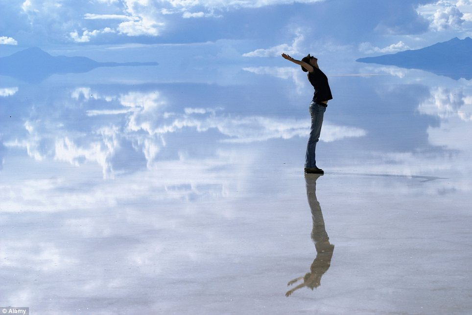 Zobacz miejsce, gdzie niebo styka się z ziemią... Przepiękne!