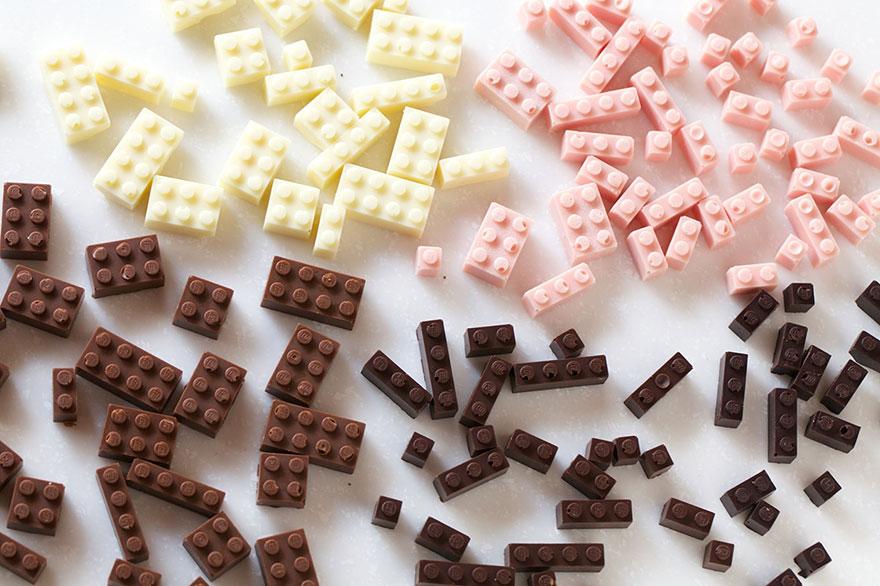 Lego do zjedzenia? Owszem, jeżeli jest... z czekolady!