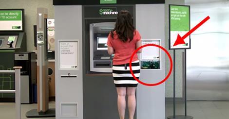 Ta kobieta chciała tylko wypłacić pieniądze ... i nigdy by się nie spodziewała tego co się stało