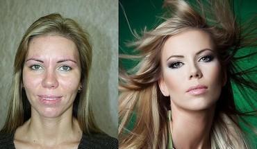 Makijaż, światło i Photoshop – czyli jak zmienić kobietę w modelkę. 15 przykładów metamorfoz!