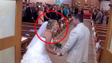 Ojciec zaśpiewał dla swojej córki, prowadząc ją do ołtarza. Efekty są naprawdę wspaniałe!