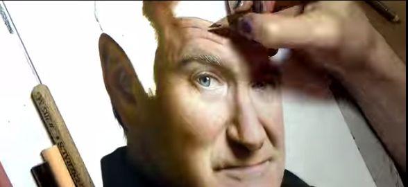Ten oszałamiający rysunek Robina Williamsa stworzyła 21-latka