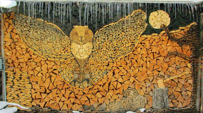 Sztuka z kawałków drewna - nowa forma artystycznego wyrazu