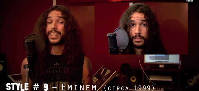 On śpiewa Linkin Park w 20 różnych stylach muzycznych...  Wykonanie 10 jest niesamowite!