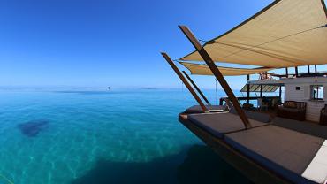 Teraz możesz pływać na Cloud 9. To miejsce jest niesamowite!