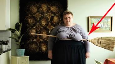 Nietypowe selfie! Zobacz, co dodała ta kobieta!