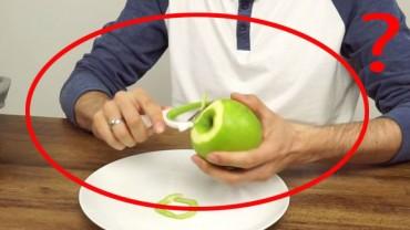 Co zrobić kiedy macie większą ilość jabłek do obrania? Musicie poznać ten sposób!