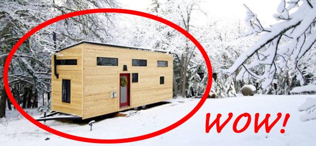 Wykonanie tego domu kosztuje mniej niż 70 tys. złotych. Ale to jego wnętrze naprawdę zdumiewa!