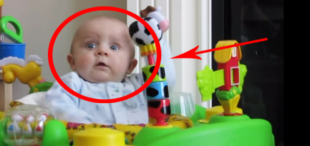 Niezwykła reakcja dziecka! Jego mama musi zastanowić się dwa razy, zanim wydmucha nos!