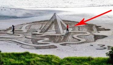 Realistyczne cuda na plażach Nowej Zelandii! Zobacz, co wymyślili Ci ludzie!