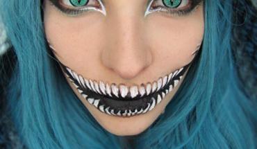 20 przerażających makijaży na Halloween. Nie chciałbym spotkać tych dziewczyn!