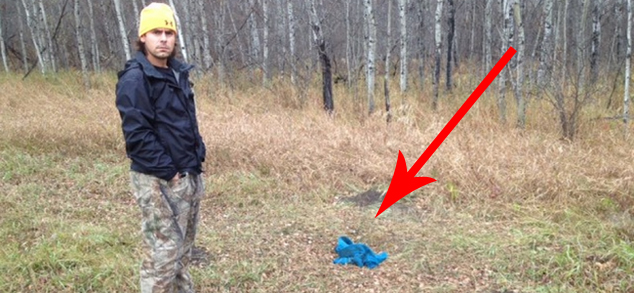 Mężczyzna w czasie spaceru po lesie znalazł dziwne zawiniątko. Kiedy zobaczył, co jest w środku, zamarł...