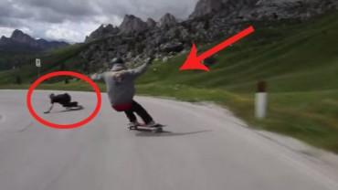 Skaterzy na przekór śmierci… Super imponujące!