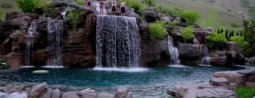 Gdy zobaczyłem, że to basen nie mogłem uwierzyć, że człowiek zbudował cos tak wspaniałego!