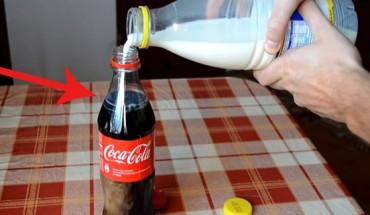 Jeśli kiedykolwiek będziesz chciał się napić Coli, nie patrz na to. Wynik jest przerażający!