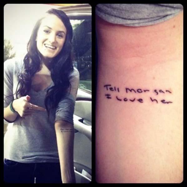 ostatni tatuaż