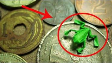 9 najmniejszych figurek origami, jakie kiedykolwiek widzieliście. Szok!