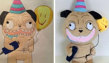 Ci ludzie powołują do życia postaci z dziecięcych rysunków. Efekt finalny jest genialny!