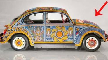 Nie uwierzycie, jak powstała dekoracja tego samochodu. Zobaczcie!