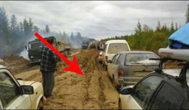 Ta rosyjska autostrada to prawdziwy koszmar dla lokalnej ludności!