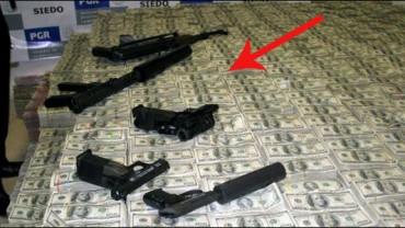Policja zatrzymała meksykańskiego dealera narkotyków. To, co znaleziono w jego domu, wprawia w osłupienie!