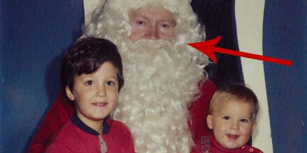 Robili sobie zdjęcia z Mikołajem przez 34 lata. Zobaczcie, jak się zmienili przez ten czas!