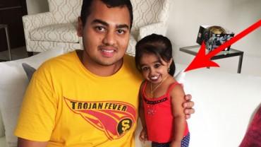 To nie Photoshop! Tak wygląda najmniejsza kobieta na świecie!