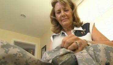 Ta kobieta wykorzystała mundur swojego zmarłego na wojnie syna do wyjątkowego celu. To takie wzruszające!