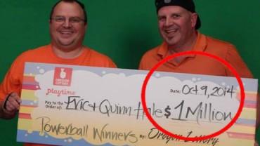 Co zrobiłbyś z milionem dolarów? Może to, co ten facet?