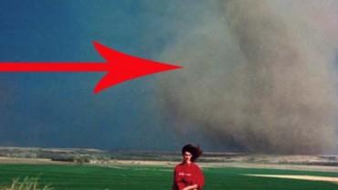 Najdziwniejsze zdjęcia ze zjawiskami pogodowymi w tle. Matka Natura ma moc!