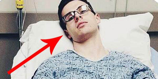 Musisz zobaczyć, jak ten dzielny nastolatek udokumentował swoją walkę z rakiem! Niezwykły chłopak!