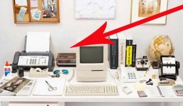 Na przestrzeni ostatnich 30 lat zawartość biurka zmieniła się diametralnie. Zobacz, co zniknęło, a co się pojawiło!