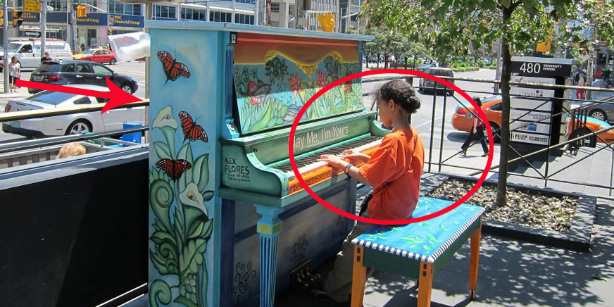 Na tych pięknych fortepianach można grać na całym świecie. Zobacz koniecznie!