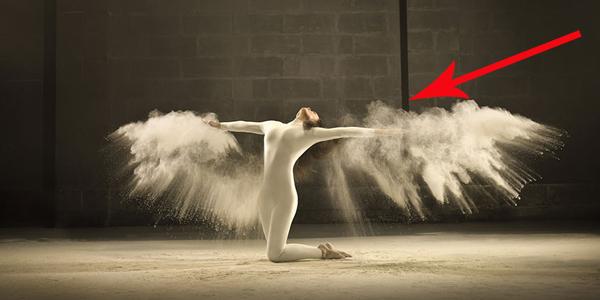Fotograf w czasie sesji zdjęciowej uchwycił coś niezwykłego. Zobacz, jak tego dokonał!