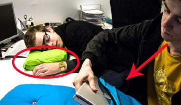 Patrząc na te poduszki, nie można przestać myśleć o drzemce!