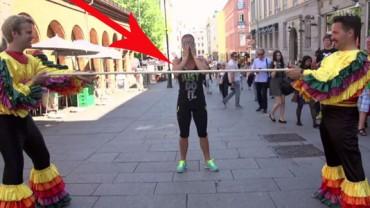 Zgodzili się na taniec Limbo… Spotkała ich niezła niespodzianka!