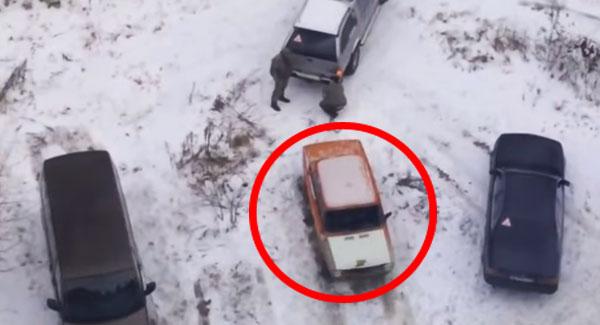 Nigdy nie zajmuj czyjegoś miejsca parkingowego! Chyba że chcesz się spotkać z taką sytuacją!