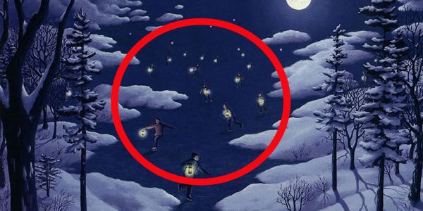 5 obrazów-iluzji, które skutecznie oszukają twój mózg. Nie będziesz wierzyć własnym oczom!